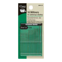 Prym Dritz Miliners/Straw Needles Sizes 3/9 16ct