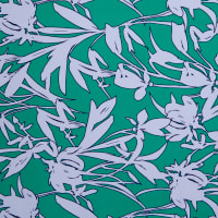 Fabtrends Ity Field of Flowers Green