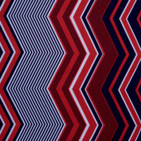 Fabtrends Ity Chevron Navy Red