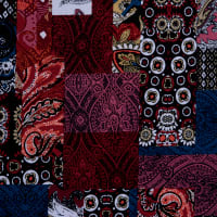 Fabtrends Ity Patchwork Rust Multi
