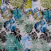 Fabtrends Ity With Puff Leaf Ferns Sage