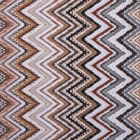 Fabtrends Ity With Puff Ethnic Chevron Neutral