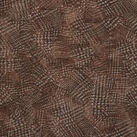 Fabtrends Brushed DTY Abstract Plaid Brown