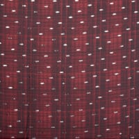 Fabtrends Yoryu Chiffon With Foil Plaid Red