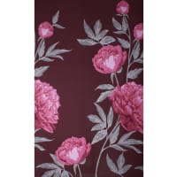 Fabtrends ity Large Floral Fuschia