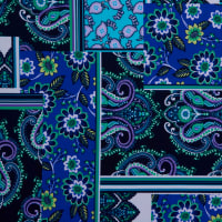 Fabtrends Ity Patchwork Blue