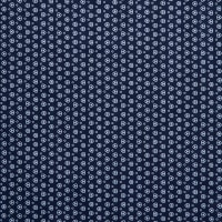 Fabtrends Millenium Dot in Triangle Navy White