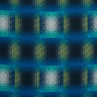 Fabtrends Washer Ghost Plaid Teal Olive