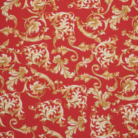 Fabtrends DTY Baroque Red Gold