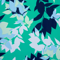 Fabtrends Ity Floral Mint