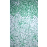Fabtrends Ity Cabbage Flower Kelly White