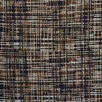 Fabtrends Washer Ghost Abstract Plaid Brown