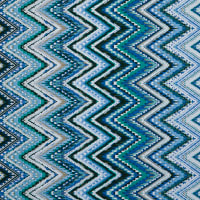 Fabtrends Ity With Puff Ethnic Chevron Jade Peri