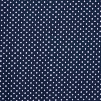 Fabtrends DTY Asprin Dot Navy White
