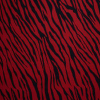 Fabtrends Koshibo Zebra Black Red