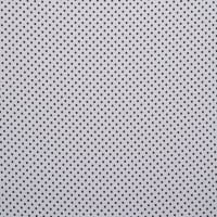 Fabtrends Buble Crepe Dot White Black