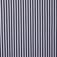 Fabtrends DTY Uneven Stripe Black White