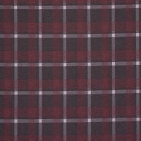 Fabtrends Jacquard Check Burgundy