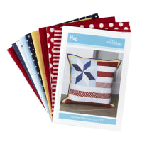 Riley Blake July Pillow Kit of the Month