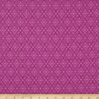Northcott Orchids In Bloom Mini Damask Plum