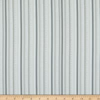 P&B Textiles Little Critters Stripe Silver Grey