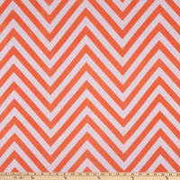 ITY Stretch Knit Chevron Orange