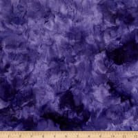 Shannon Minky Luxe Cuddle Galaxy Viola