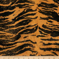 Shannon Minky Luxe Cuddle Seal Tiger Copper