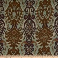 Crepe Georgette Abstract Green/Brown