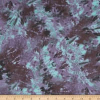 Himulti Chiffon Abstract Purple/Teal