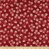 Andover Sweet 16 Cotton Burgundy