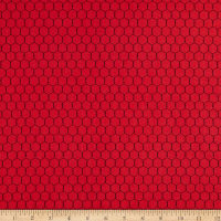 Andover The Coop Chicken Wire Red