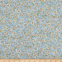 Kaufman Nature's Notebook Small Floral Peach