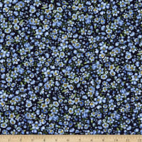 Kaufman Nature's Notebook Small Floral Blue Jay