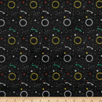 E.Z. Fabric Minky Intergalactic Black