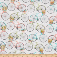 3 Wishes Beach Travel Bicycles White