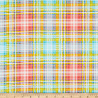 3 Wishes Feed the Bees Plaid Multi