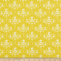 3 Wishes Summer Song Toile Yellow
