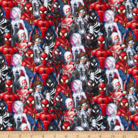 Marvel Spiderman And Friends Red