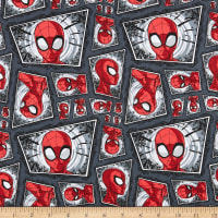 Marvel Spiderman Comic Swirl Multi