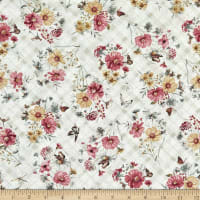 Wilmington A Country Weekend Bouquet Toss Pale Taupe