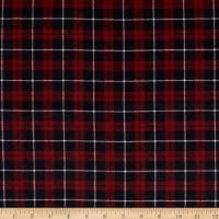 Flannel Carroll Plaid Navy/Red