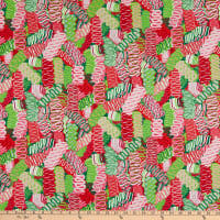 Alexander Henry Christmas Time Ribbon Candy Wintergreen