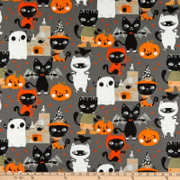 Alexander Henry Costume Kitty Charcoal