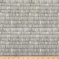 Michael Miller Wild Things Weathered Roof Gray