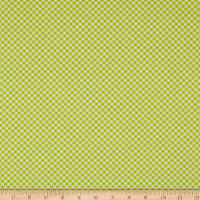 Michael Miller Out Of Africa Safari Gingham Lime