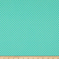Michael Miller Out Of Africa Safari Gingham Teal