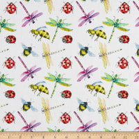 Telio Digital Cotton Lawn Print Insects