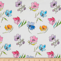 Telio Digital Cotton Lawn Print Floral Flower