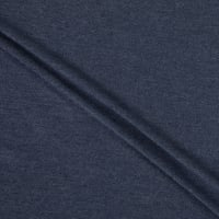Telio Rayon Blend Stretch French Terry Knit Navy